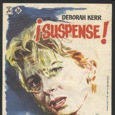 Cine: P-4045- SUSPENSE (THE INNOCENTS) DEBORAH KERR - PETER WYNGARDE - MEGS JENKINS. Lote 221134418