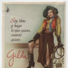 Cine: GILDA. SENCILLO DE COLUMBIA. . Lote 15888197