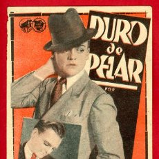 Cine: DURO DE PELAR , JAMES GAGNEY , TARJETA , S1675. Lote 19403122