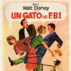 Cine: WALT DISNEY - UN GATO DEL FBI - HAYLEY MILLS - DEAN JONES - DOROTHY PROVINE - RODDY MCDOWALL. Lote 15930145