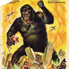Cine: KING KONG - FAY WRAY - REY SORIA - ERNEST B. SCHOEDSACK - MERIAM C. COOPER - BRUCE CABOT. Lote 15930282