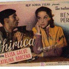 Cine: CHIRUCA. SENCILLO DE REY SORIA FILMS.. Lote 16106010