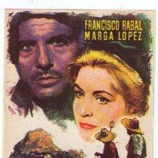 Cine: EL HOMBRE DE LA ISLA. SENCILLO DE CB FILMS.. Lote 16106193