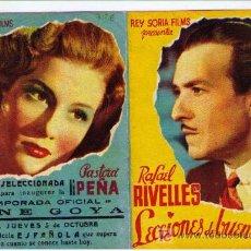 Cine: LECCIONES DE BUEN AMOR. DOBLE DE REY SORIA FILMS. CINE GOYA.. Lote 16159063