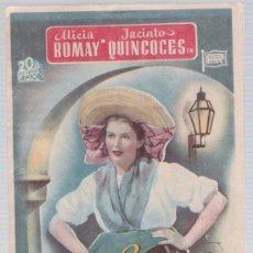 Cine: EL CAMINO DEL AMOR.DOBLE DE 20TH CENTURY FOX. CINE ESPAÑA - BERGA.. Lote 16166899
