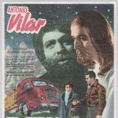 Cine: EL JUDAS. SENCILLO DE IFI. CINE LICEO - MÉRIDA 1953.. Lote 16166942