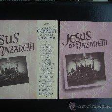 Cine: JESUS DE NAZARETH, VARIANTE. Lote 26289317