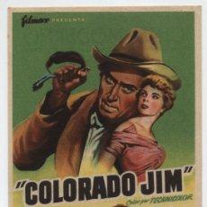 Cine: COLORADO JIM. SENCILLO DE FILMAX. CINE MODERNO- MÁLAGA.. Lote 16371082