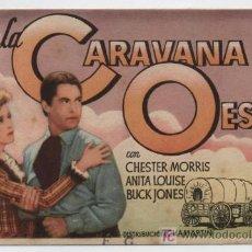 Cine: LA CARAVANA DEL OESTE. SENCILLO DE CHAMARTÍN.. Lote 16377434