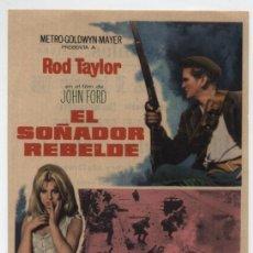 Cine: EL SOÑADOR REBELDE. SENCILLO DE MGM. CINE CERVANTES -VILLENA 1966. ¡IMPECABLE!. Lote 16391166