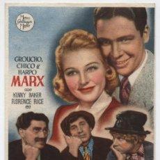 Cine: UNA TARDE EN EL CIRCO.SENCILLO DE MGM. CINE JOFRE - FERROL.. Lote 16433564