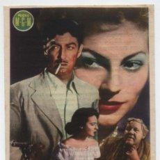 Cine: SOBORNO. SENCILLO DE MGM. MAJESTIC CINEMA 1951.. Lote 16433751