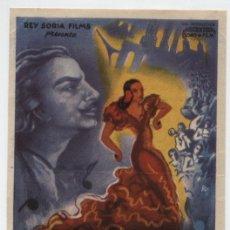 Cine: ALBÉNIZ. SENCILLO DE REY SORIA FILMS. CINEMA - FERROL DEL CAUDILLO.. Lote 16437230
