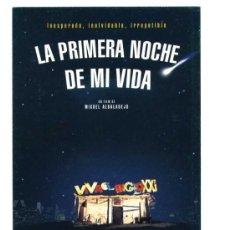 Cine: LA PRIMERA NOCHE DE MI VIDA, CON EMILIO GUTIÉRREZ CABA.. POSTAL-PROGRAMA.. Lote 178293971