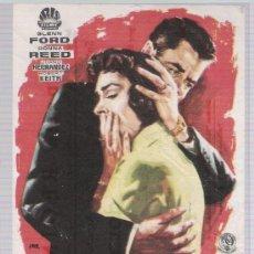 Cine: ¡RAPTO! SENCILLO DE IRIS FILMS. CINEMA REGINA 1962.. Lote 16583230
