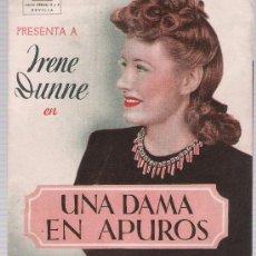 Cine: UNA DAMA EN APUROS. DOBLE DE J.M.ORTIZ.SEVILLA. TEATRO ESPAÑA.. Lote 16640225