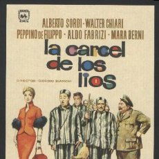Cine: P-0502- LA CARCEL DE LOS LIOS (ACCADDE AL PENITENZIARIO) ALDO FABRIZI - ALBERTO SORDI. Lote 243850450