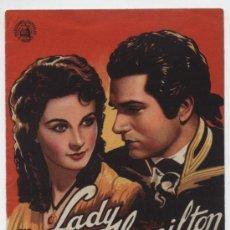 Cine: LADY HAMILTON. DOBLE DE CAPITOLIO.. Lote 16744821