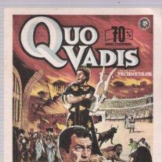 Foglietti di film di film antichi di cinema: QUO VADIS. SENCILLO DE MAHIER.. Lote 118659692