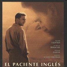 Cine: P-4965- EL PACIENTE INGLES (THE ENGLISH PATIENT) RALPH FIENNES - KRISTIN SCOTT THOMAS. Lote 206537157