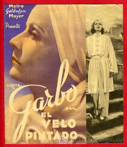 Resultat d'imatges de el velo pintado Garbo