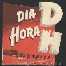 Cine: P-9176- DIA D, HORA H (BREAKTHROUGH) (TROQUELADO-DOBLE) DAVID BRIAN - JOHN AGAR - FRANK LOVEJOY. Lote 26944215