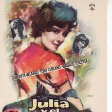 Cine: JULIA Y EL CELACANTO. MAS COLECCIONISMO EN GENERAL EN RASTRILLOPORTOBELLO. Lote 25547030