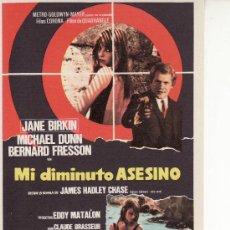 Cine: MI DIMINUTO ASESINO -VEA MAS CINE Y COLECCIONISMO EN GENERAL EN RASTRILLOPORTOBELLO. Lote 17594121