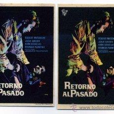Cine: RETORNO AL PASADO, CON ROBERT MITCHUM... Lote 137676262