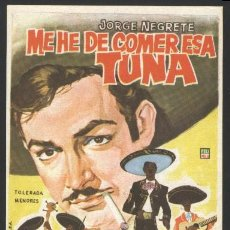 5307- ME HE DE COMER ESA TUNA ( Jorge Negrete - María Elena Marqués - Enrique Herrera)