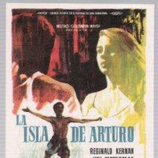 Cine: LA ISLA DE ARTURO. SENCILLO DE MGM. CINE LICEO - MÉRIDA 1964.. Lote 17708112