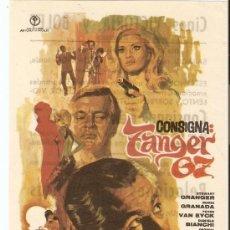 Cine: CONSIGNA: TANGER 67 - STEWART GRANGER, MARÍA GRANADA, PETER VAN EYCK - DIRECTOR SERGIO SOLLIMA. Lote 60746677