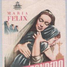 Cine: RÍO ESCONDIDO. SENCILO DE CIFESA. CINE ECHEGARAY 1950.. Lote 17762962