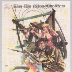 Cine: SANGRE EN LA PRADERA. SENCILLO DE CEA. CINE LICEO - MÉRIDA 1965.. Lote 17784152