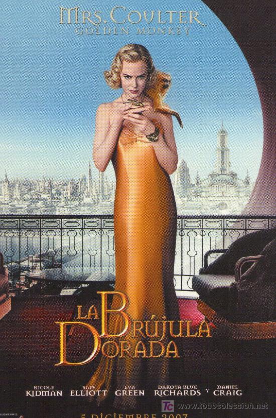 67-POSTAL DEL FILM: LA BRUJULA DORADA (Cine - Folletos de Mano - Infantil)