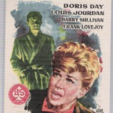 Cine: EL DIABÓLICO SEÑOR BENTON. SENCILLO DE AS FILMS. CINEMA VICTORIA 1961. ¡IMPECABLE!. Lote 17867010