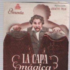 Cine: LA CAPA MÁGICA. DOBLE DE CIFESA. CINES FLORIDA Y CASINO.. Lote 17902406