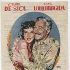 Cine: PAN AMOR Y FANTASÍA. SENCILLO DE MERCURIO. MAJESTIC CINEMA.. Lote 18013181