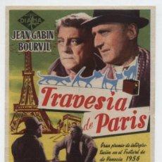 Cine: TRAVESÍA DE PARÍS. SENCILLO DE DIANA. CINE ECHEGARAY - MÁLAGA 1957.. Lote 18014692
