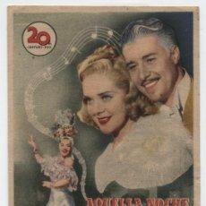 Cine: AQUELLA NOCHE EN RÍO. SENCILLO DE 20TH CENTURY FOX. CINE ESPAÑA - LINARES.. Lote 18014811