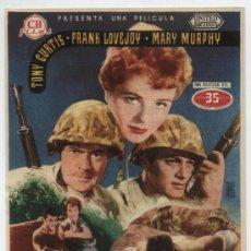 Cine: MISIÓN TEMERARIA.. SENCILLO DE CB FILMS.CINE AVENIDA - VILLANUEVA LA SERENA 1955.¡IMPECABLE!. Lote 18018609