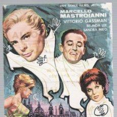 Cine: FANTASMAS DE ROMA. SENCILLO DE REY SORIA FILMS. CINE VICTORIA - BADALONA.. Lote 18041686