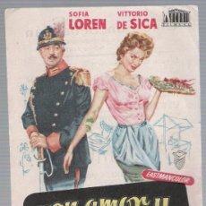 Cine: PAN,AMOR Y ...SENCILLO DE MERCURIO. CINE SAN SEBASTIÁN - SEVILLA 1958.. Lote 18043434