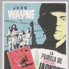 Cine: LA PATRULLA DEL CORONEL JACKSON. SENCILLO DE IFI.. Lote 18346308