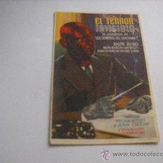Cine: LOS CRIMENES DEL FANTASMA. 1ª JORNADA: EL TERROR INVISIBLE. RALPH BYRD. PUBL.DE TEATRO-CIRCO, TOTANA. Lote 19740420