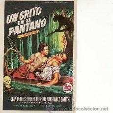 Cine: UN GRITO EN EL PANTANO. MAS COLECCIONISMO EN RASTRILLOPORTOBELLO. Lote 18576544