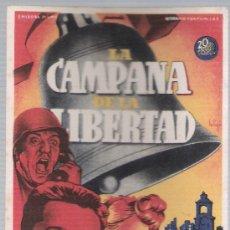 Cine: LA CAMPANA DE LA LIBERTAD. SOLIGÓ. SENCILLO DE 20TH DE CENTURY FOX.. Lote 18577055