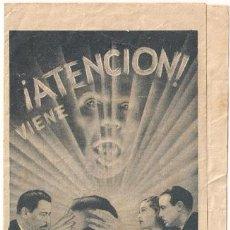 Cine: EL LOBO HUMANO PROGRAMA DOBLE UNIVERSAL HENRY HULL WARNER OLAND UNIVERSAL TERROR. Lote 18589848
