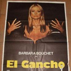 Cine: CARTEL ORIGINAL DE LA PELICULA EL GANCHO. MEDIDAS 70X100 CM.. Lote 18896439