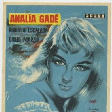 Folhetos de mão de filmes antigos de cinema: PROGRAMA DE CINE: AYER FUE PRIMAVERA (PC-601). Lote 63605668